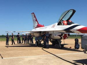 Defenders of Liberty Air Show in Bossier City