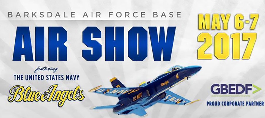 Barksdale Air Force Base Air Show May 6-7 2017