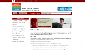 GALE COURSE HOME PAGE