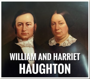 William and Harriet Haughton
