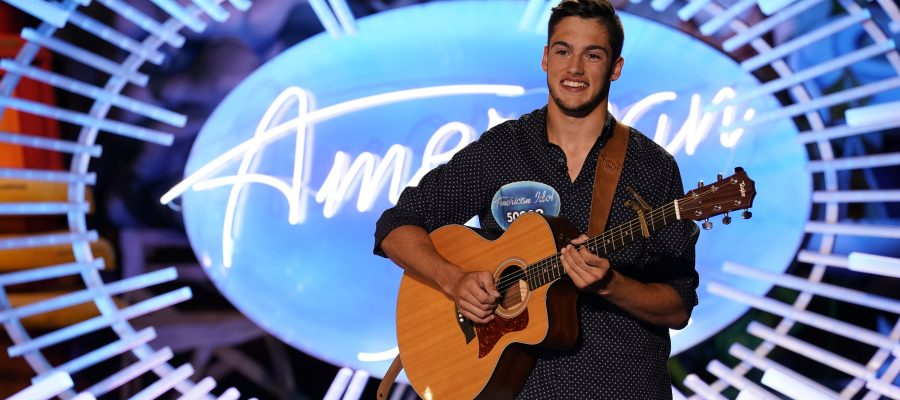Garrett Jacobs on American Idol