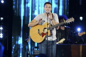 Garrett Jacobs performs on American Idol
