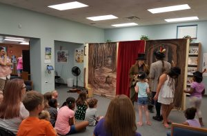 Edutainment served up for children at Bossier Parish Libraries.