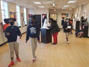 Children's activities at Bossier Arts Council.