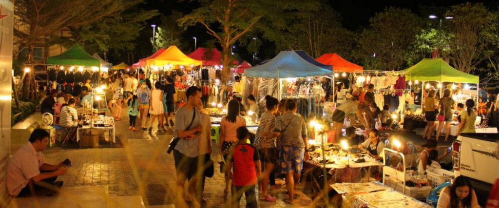 Bossier Night Market in Bossier Parish is a fun and exciting spot for tourists to visit.